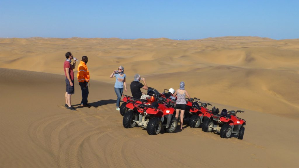 Quad-Tour in der Namib-Wüste